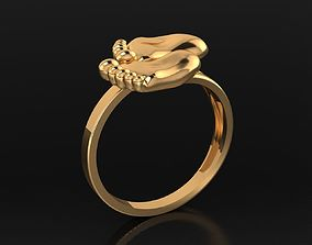 3D printable model MGold022 Baby Ring 2