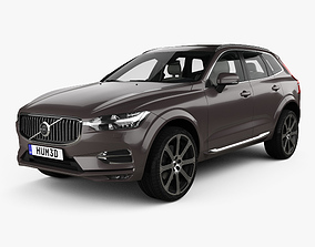 3D Volvo XC60 T6 Inscription with HQ interior 2017