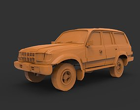 3D printable model TOYOTA LAND CRUISER 80VX
