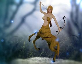 animated 3Dfoin - Female Cantaur