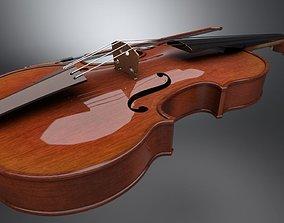concert 3D asset realtime Violin