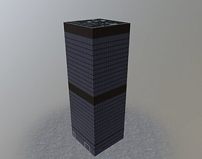 London Aviva Tower 3D asset
