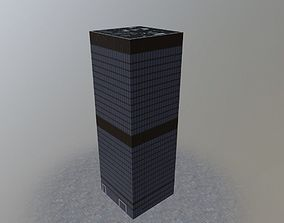 London Aviva Tower 3D asset