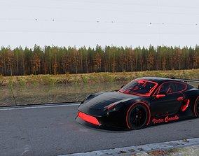 Porsche 911 GT 3D asset