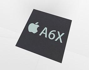 3D asset Apple CPU A6X