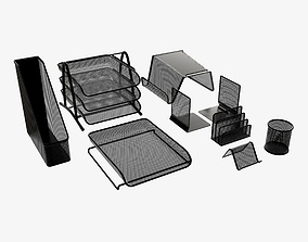 3D Desk organizer set