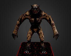 Werewolf 3D asset realtime