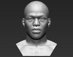 Jon Jones bust 3D printing ready stl obj formats
