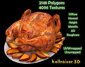 Food Chicken - Textured 3D asset