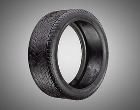 game-ready Car Tire AAA PBR Game Ready Asset
