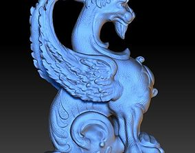 Highly realistic digital 3d sculpture of a