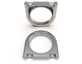 FASHION RING 2 3D print model