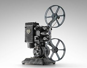 Ampro 16MM Projector 3D model