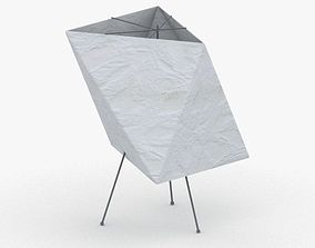 1411 - Paper Lamp 3D asset