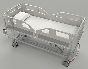 Hospital Bed for VRAY 3D model