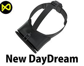 3D New Google Daydream View VR 2017 Headset