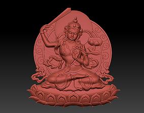 3D print model oriental Tibetan Buddha