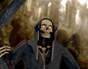 3D model Grim reaper