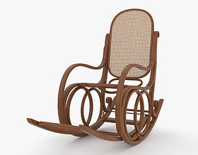 Rocking Chair 3D seating