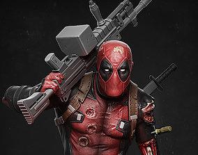 3D print model Deadpool statue
