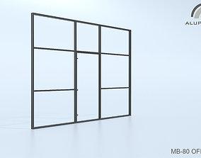 3D model Aluprof MB-80 Office 011 0173