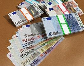 3D model European Paper Money Collection