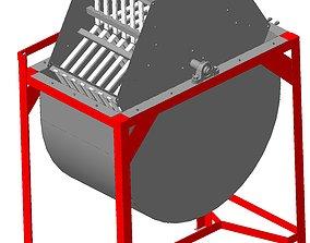 3D honey extractor