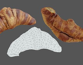 3D model Croissant 01 - Low Poly - Photogrammetry