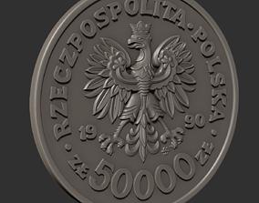 3D print model Polish zloty