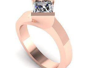 3D print model Square ring 62