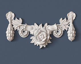 ornament Swag Onlay 3D