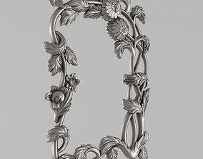 Frame mirror center 3D print model