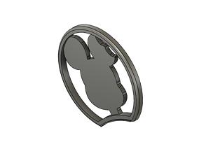 3D print model Mickey Mouse Headband Slide on Ear Mickey 3
