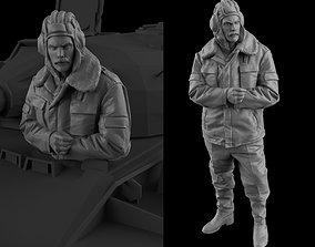 sculpture 3D print model Tank Crew