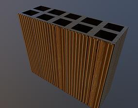 Perforated Brick 3D model
