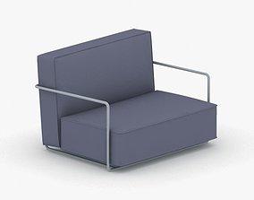 3D model 0095 - Modern Armchair