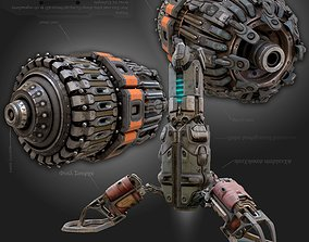 Cyberpunk parts collection - sci fi 3D