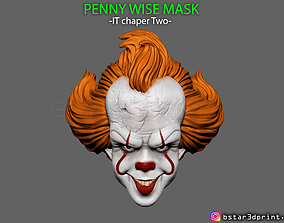 Penny Wise Mask - IT chapter Two 3D printable model