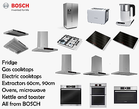 Bosch Kitchen Appliance Collection 3D