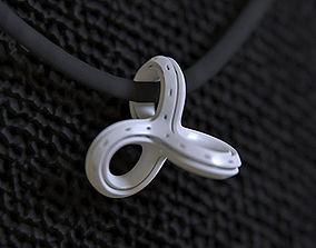 3D printable model Infinity Knot Pendant
