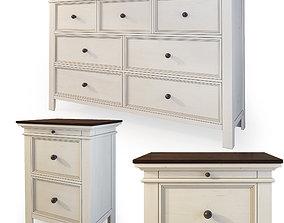 3D Dresser nightstand by Ashley Woodanville