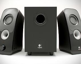 Logitech Computer Speakers 3D model