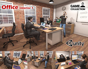Office Interior 1 3D model