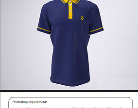 3D print model shirt polo or Golf Shirt