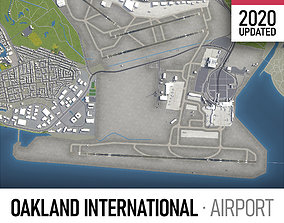 3D model Oakland International Airport - OAK