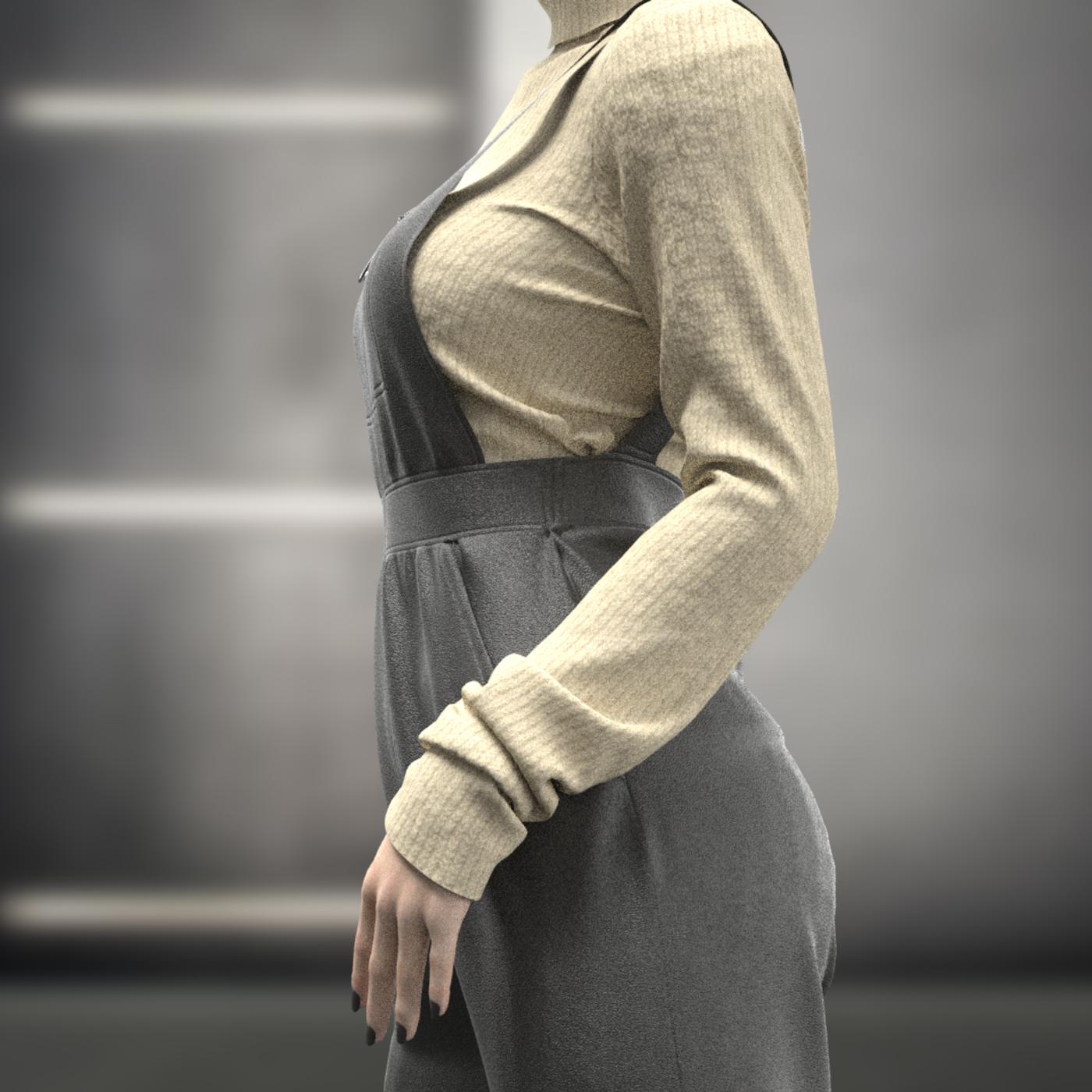 Female Overalls