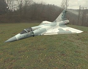 Dassault Mirage 2000 Fighter Jet 3D model