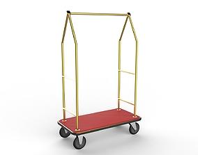 3D Hotel Trolley 05