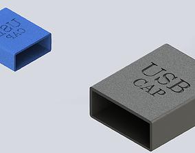 USB Pen Drive Cap 3D printable model