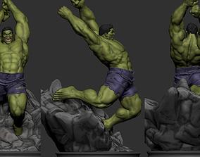 comics Hulk 3D Print
